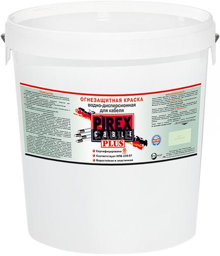 Pirex Cable Plus огнезащитная краска водно-дисперсионная для кабеля (25 кг) от серого до коричневого