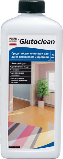 Пуфас Glutoclean Laminat und Korkboden Reiniger средство для очистки и ухода за ламинатом и пробкой (1 л)