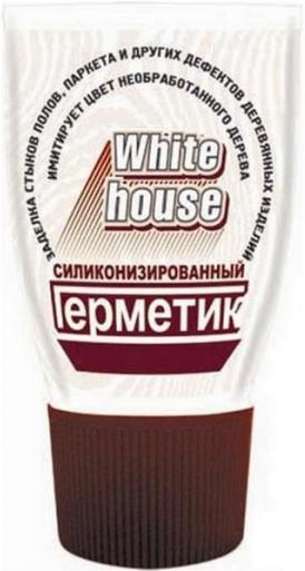 White House герметик силиконизированный (180 г) белый