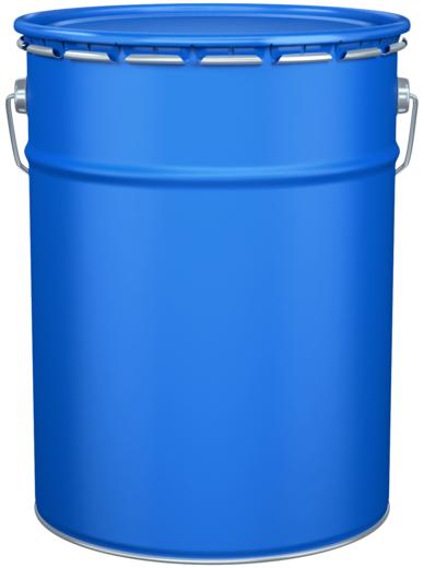 Стройпродукция ХВ-125 эмаль (45 кг) серебристая