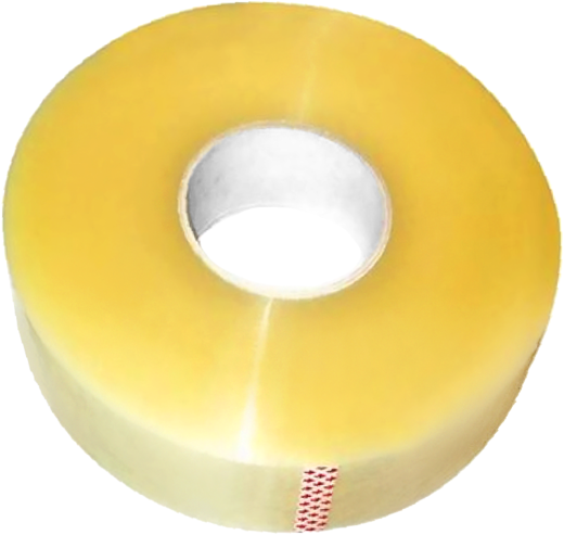 Скотч упаковочный Пром Строй Автоматика (50*50 м) прозрачный