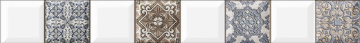 Alma Ceramica Lira BWU57LIR004 бордюр (500 мм)