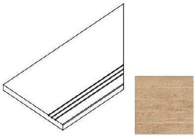 Италон Natural Life Wood Olive Bordo Grip D 620090000239 плитка напольная (300 мм*600 мм)
