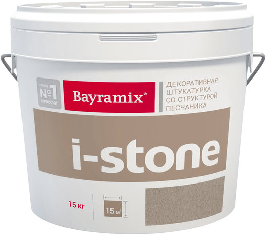 Bayramix I-Stone декоративная штукатурка со структурой песчаника (15 кг) ST 3081