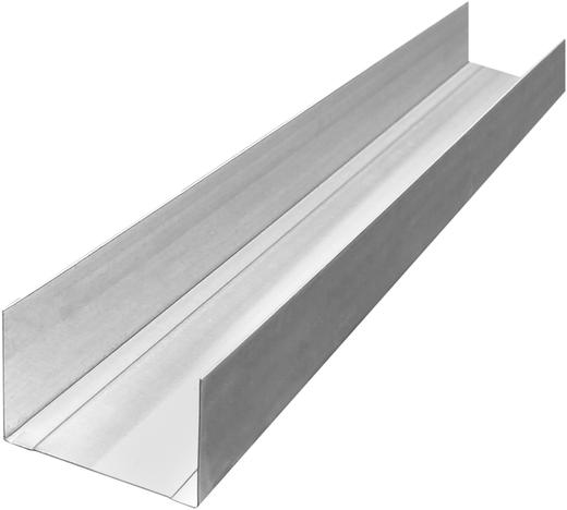 Профиль потолочный направляющий (ППН) Гипрок Стандарт (28 мм*27 мм*3 м) (0.6 мм)
