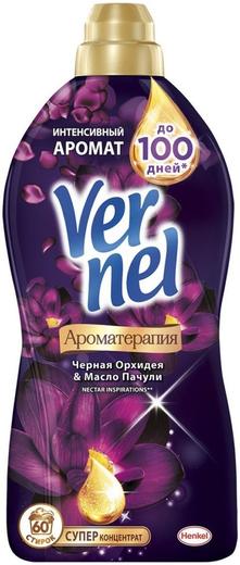Вернель Ароматерапия Черная Орхидея и Масло Пачули кондиционер для белья суперконцентрат (910 мл)