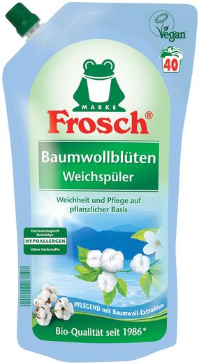 Frosch Цветы Хлопка ополаскиватель для белья концентрированный (1 л)