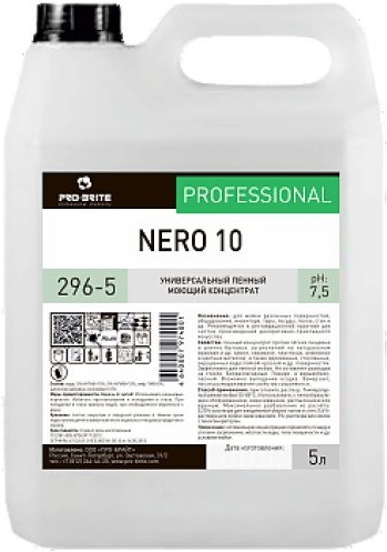 Pro-Brite Nero 10 универсальный пенный моющий концентрат (5 л)