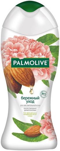 Палмолив Бережный Уход Миндальное Масло и Пион гель-крем для душа (250 мл)