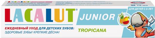 Лакалют Junior Тропикана зубная паста для детей с 8 лет (75 мл)