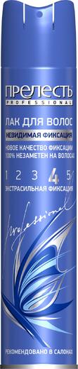 Прелесть Professional Невидимая Фиксация лак для волос экстрасильной фиксации (300 мл)