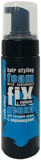 Cafe Mimi Fix & Volume пенка для укладки с керамидами (150 мл)