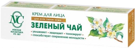 Невская Косметика Зеленый Чай крем для всех типов кожи лица (40 мл)
