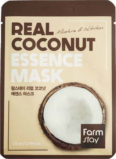 Farmstay Real Coconut Essence Mask тканевая маска для лица с экстрактом кокоса (1 маска)