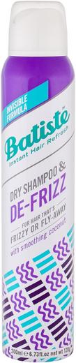 Batiste De-Frizz сухой шампунь для непослушных и вьющихся волос (200 мл)
