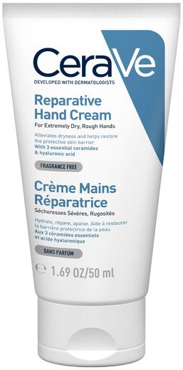 Cerave Reparative Hand Cream восстанавливающий крем для очень сухой кожи рук (50 мл)