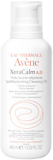 Avene Xera Calm A.D. масло для тела очищающее липидовосполняющее (400 мл)