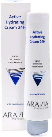 Аравия Professional Active Hydrating Cream 24H крем для лица активное увлажнение (100 мл)