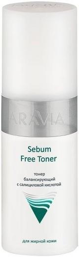 Аравия Professional Sebum Free Toner тонер балансирующий с салициловой кислотой для жирной кожи (150 мл)