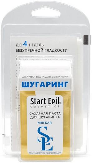 Start Epil Cosmetics Мягкая набор для депиляции (паста + бумажные полоски 1 набор)