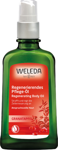 Weleda Granatapfel Regenerating Body Oil   масло для тела восстанавливающее гранатовое (100 мл)