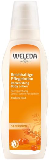 Weleda Sanddorn Replenishing Body Lotion молочко для тела тонизирующее облепиховое (200 мл)
