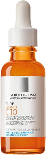 La Roche-Posay Pure Vitamin C10 Serum сыворотка антиоксидантная для обновления кожи (30 мл)