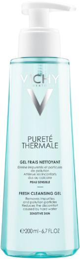 Vichy Purete Thermale гель очищающий освежающий для чувствительной кожи (200 мл)