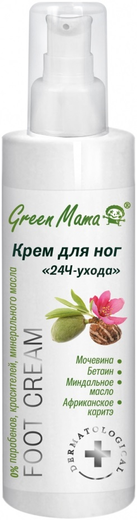 Green Mama Foot Cream 24H-Ухода крем для ног (200 мл)