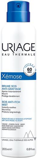 Урьяж Xemose Brume SOS Anti-Grattage дымка успокаивающая для сухой и атопичной кожи (200 мл)