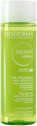 Биодерма Sebium Lotion лосьон для жирной и смешанной кожи (200 мл)