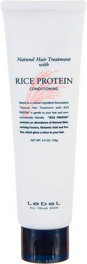 Lebel Rice Protein маска для волос восстанавливающая (140 г)
