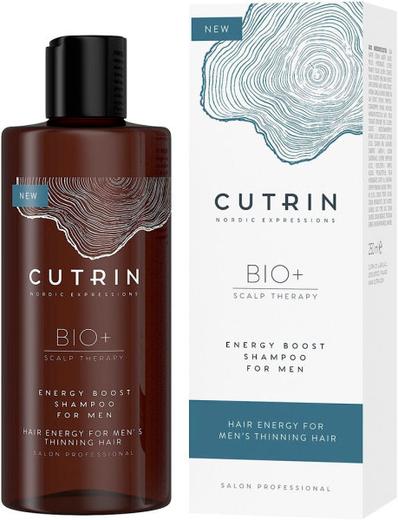 Кутрин Bio+ Scalp Therapy Energy Boost Shampoo for Men шампунь-бустер для укрепления волос у мужчин (250 мл)