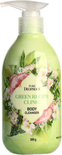 Deoproce Pure Green Recipe Clinic Body Cleanser гель для душа успокаивающий (300 мл)