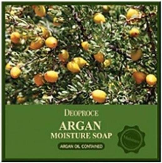 Deoproce Argan Moisture Soap мыло с аргановым маслом (100 г)