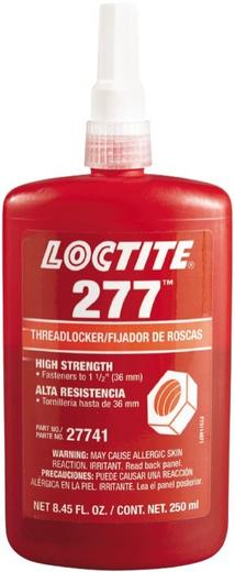 Локтайт 277 фиксатор резьбовых соединений высокой прочности (250 мл)