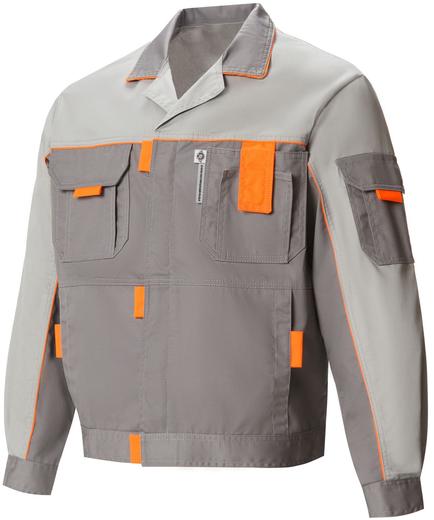 Союзспецодежда Профессионал-1 костюм (куртка + брюки) 48-50 /182-188 темно-серый/светло-серый