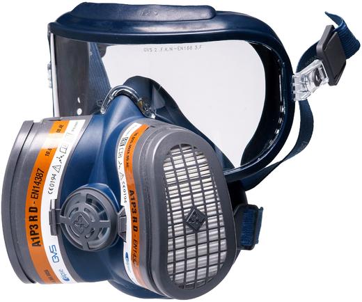 Полумаска с защитой зрения GVS Elipse Integra (FFP3, до 50 ПДК) L