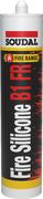 Soudal Fire Silicone B1 FR огнестойкий силиконовый герметик
