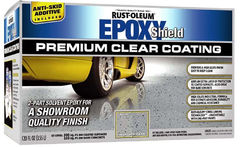 Rust-Oleum Epoxyshield Premium Clear Floor Coating Kit премиум-покрытие эпоксидное высокоглянцевое
