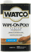 Rust-Oleum Watco Wipe-On Poly полироль для дерева
