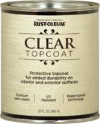 Rust-Oleum Clear Topcoat Metallic Accents лак финишный на акриловой основе