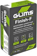 Глимс Finish-F финишная шпатлевка белая водостойкая