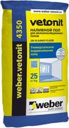 Вебер Ветонит 4350 DB-Plaano Floor наливной пол для звукоизоляционных полов