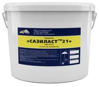 Сазиласт 21 двухкомпонентный тиоколовый отверждающийся герметик