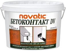 Feidal Novatic Бетон-контакт DV специальный акриловый адгезионный штукатурный грунт