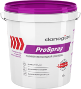 Danogips ProSpray полимерная финишная шпатлевка
