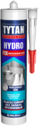 Титан Professional Hydro Fix монтажный клей влагостойкий прозрачный без запаха