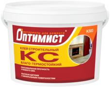 Оптимист КС K 503 клей строительный влаго-термостойкий для внутренних работ