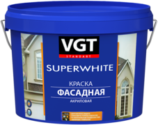ВГТ ВД-АК-1180 Superwhite краска фасадная акриловая